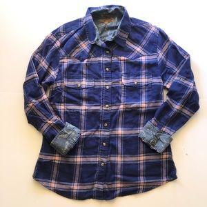 Jachs Girlfriend Flannel Shirt